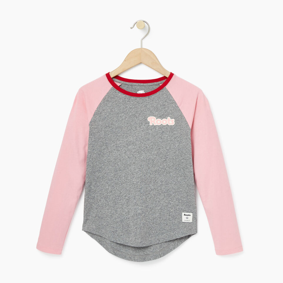 Roots-undefined-Girls Roots Raglan Top-undefined-A