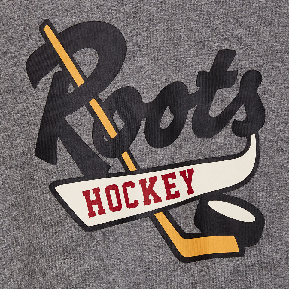 Roots-Kids Categories-Boys Hockey Team T-shirt-Sage Red-C