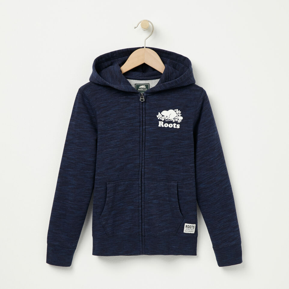 Roots-undefined-Boys Space Dye Full Zip Hoody-undefined-A