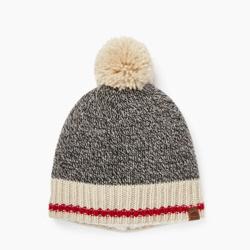 Roots-New For November The Roots Cabin Collection™-Roots Cabin Pom Pom Toque-Grey Oat Mix-A