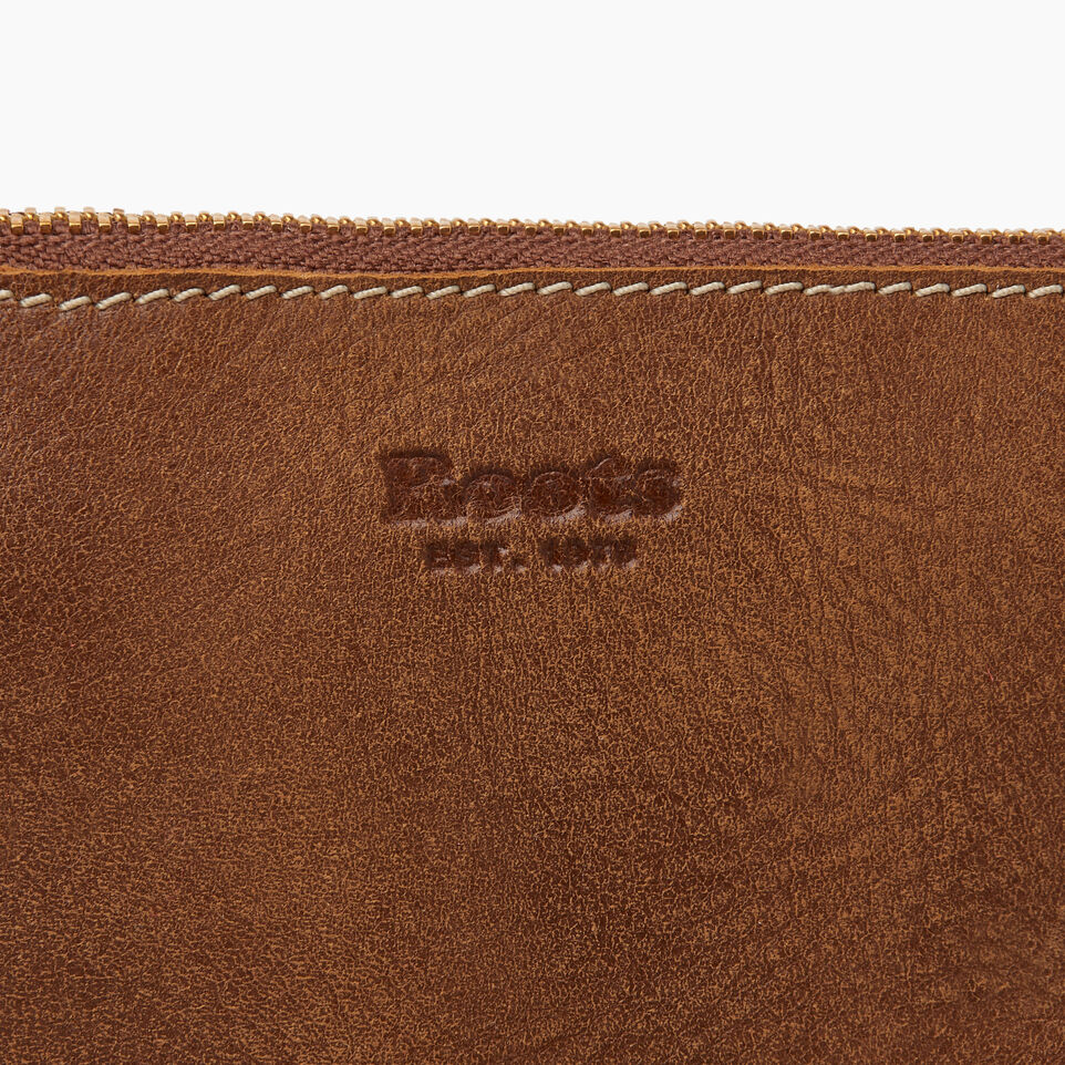 Roots-Leather New Arrivals-Christie Crossbody Tribe-Natural-E