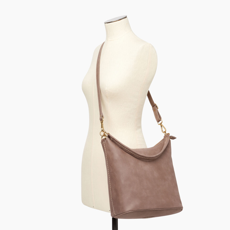Roots-Leather  Handcrafted By Us Our Favourite New Arrivals-Ella Bag-Fawn-B