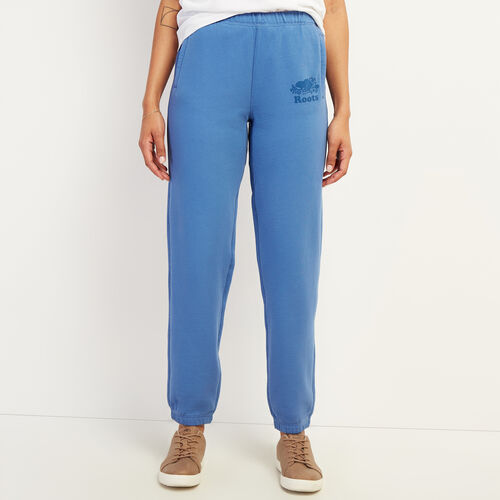 Roots-Women New Arrivals-Kawartha Original Sweatpant-Federal Blue-A