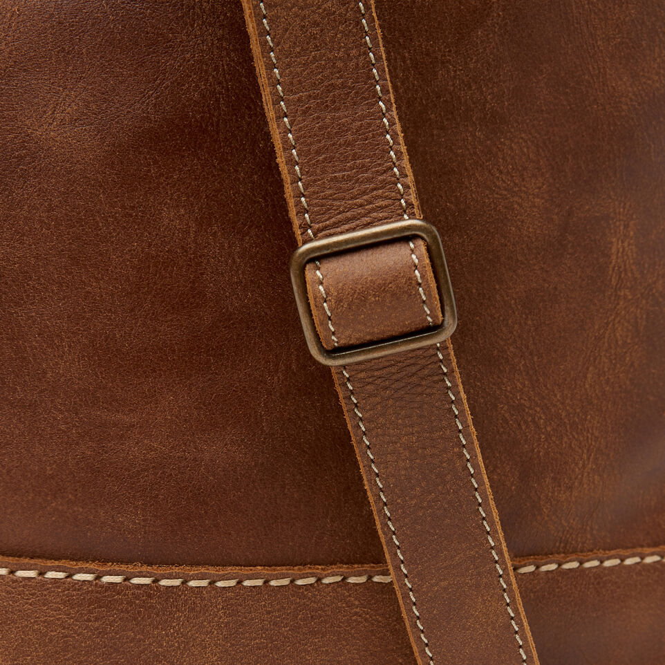 Roots-Leather  Handcrafted By Us Our Favourite New Arrivals-West End Hobo-Natural-D