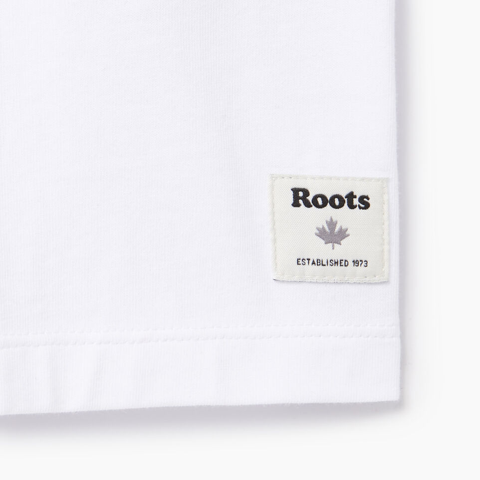 Roots-undefined-Womens Cooper Outline T-shirt-undefined-C