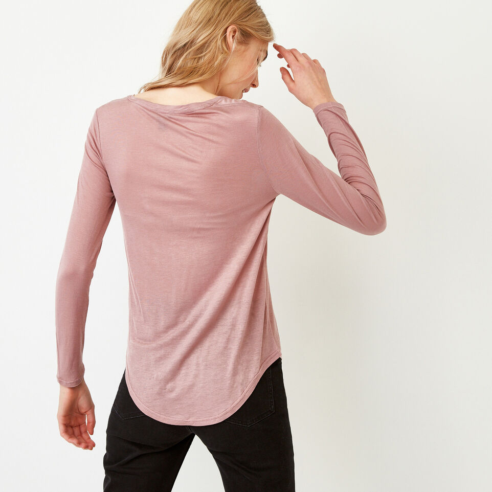 Roots-Women Our Favourite New Arrivals-Sidney Top-Dark Lilas-E