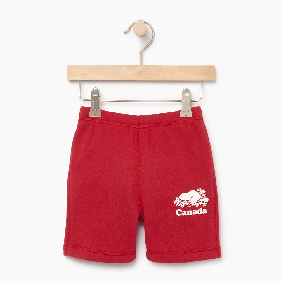 Roots-Kids Our Favourite New Arrivals-Toddler Canada Short-Sage Red-A