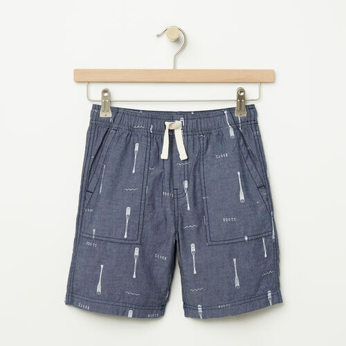 Roots-Sale Kids-Boys Pine Falls Cargo Short-Denim Mix-A