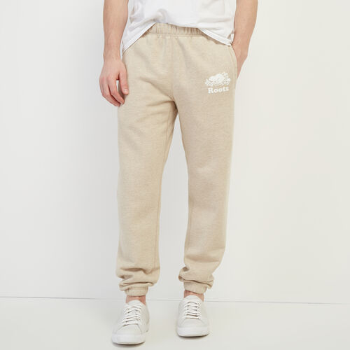 Roots-Men Bestsellers-Original Sweatpant-Flaxseed Mix-A