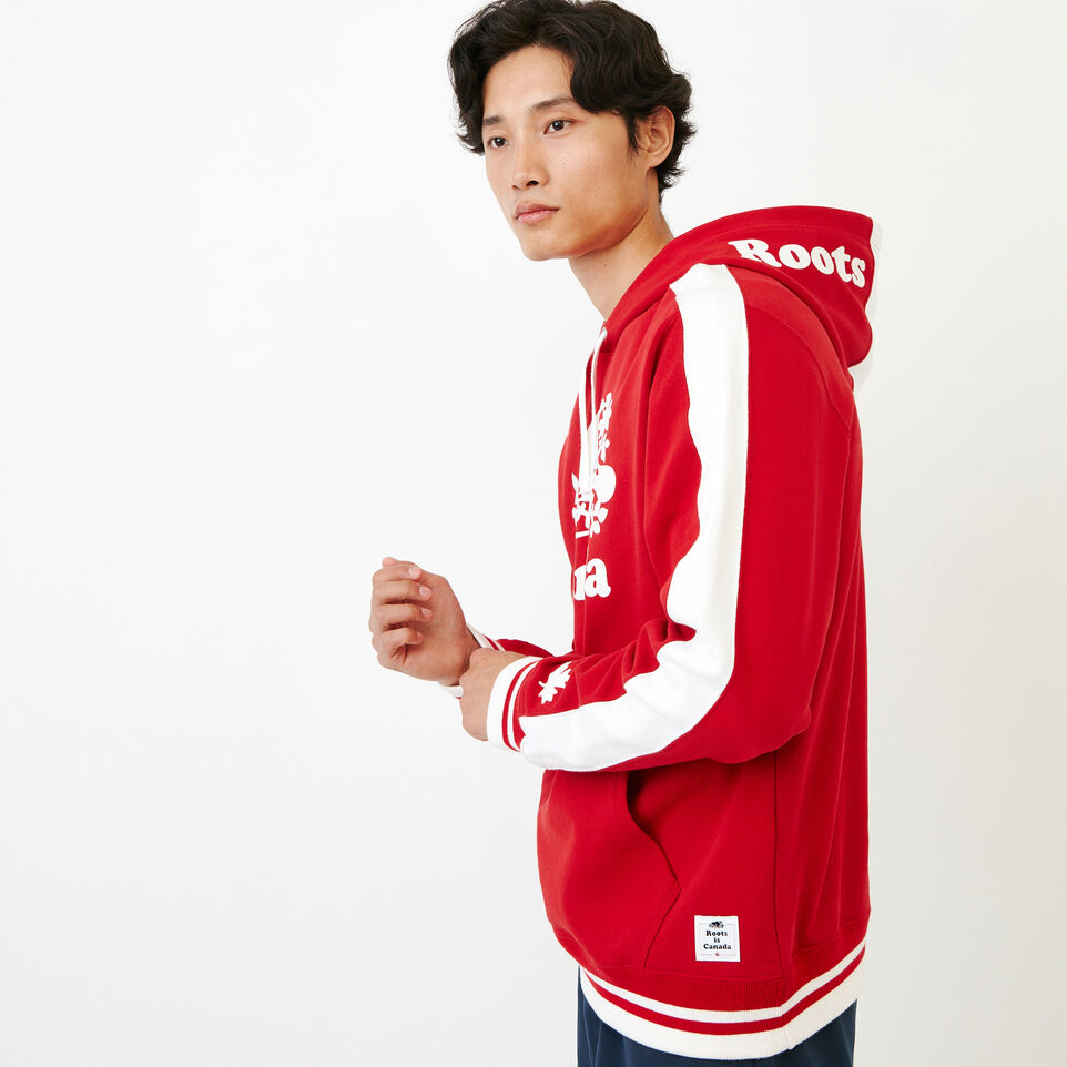 Roots-Men Our Favourite New Arrivals-Canada Hoody-Sage Red-C