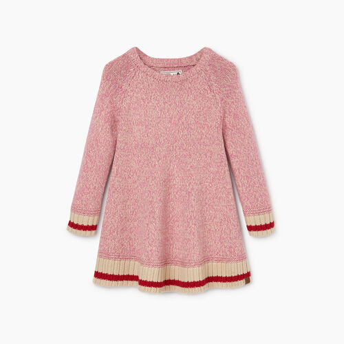 Roots-Kids Dresses-Toddler Roots Cabin Dress-Cashmere Rose-A