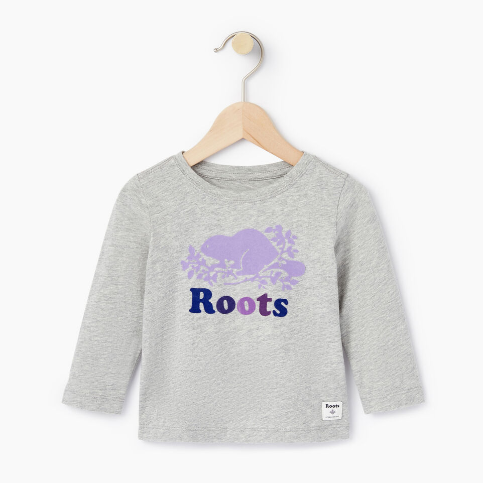 Roots-undefined-Baby Original Cooper Beaver T-shirt-undefined-A