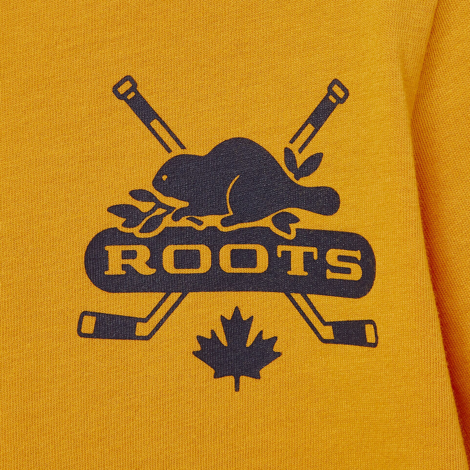 Roots-Kids Our Favourite New Arrivals-Toddler Hockey T-shirt-Squash Yellow-C