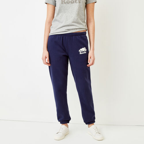 Roots-Women Bottoms-Original Sweatpant-Eclipse-A