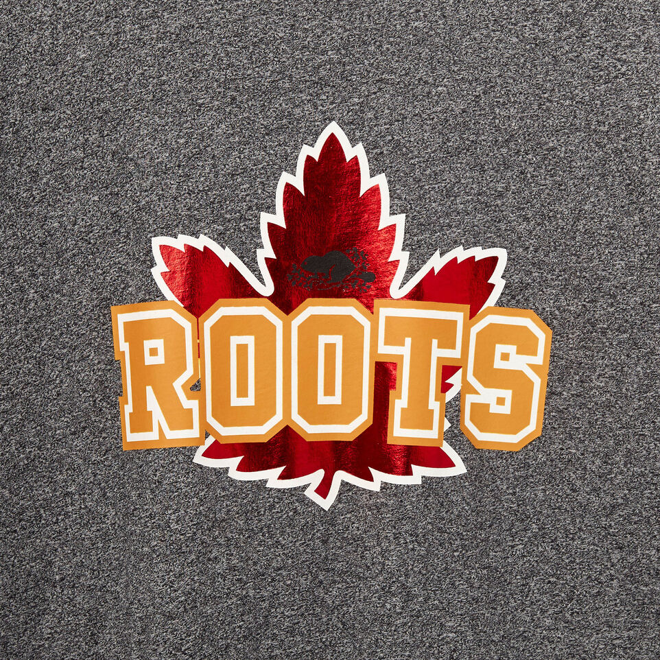 Roots-undefined-Mens Canada Foil T-shirt-undefined-D