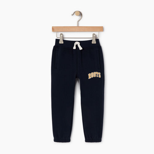 Roots-Kids Toddler Boys-Toddler Roots Varsity Sweatpant-Navy Blazer-A