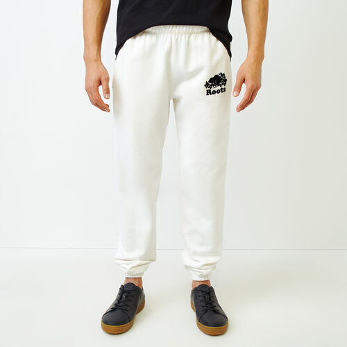 Roots-Men Our Favourite New Arrivals-Original Sweatpant-Egret-A