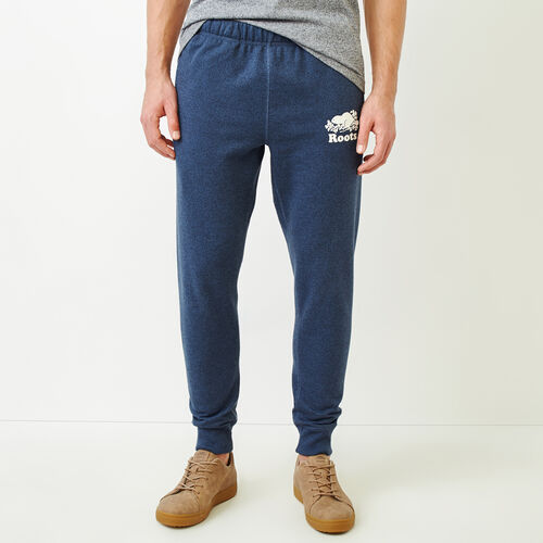 Roots-Men Bestsellers-Cooper Park Slim Sweatpant-Bering Sea Pepper-A
