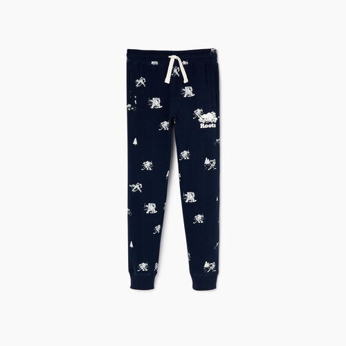 Roots-Kids Our Favourite New Arrivals-Boys Hockey Aop Sweatpant-Navy Blazer-A