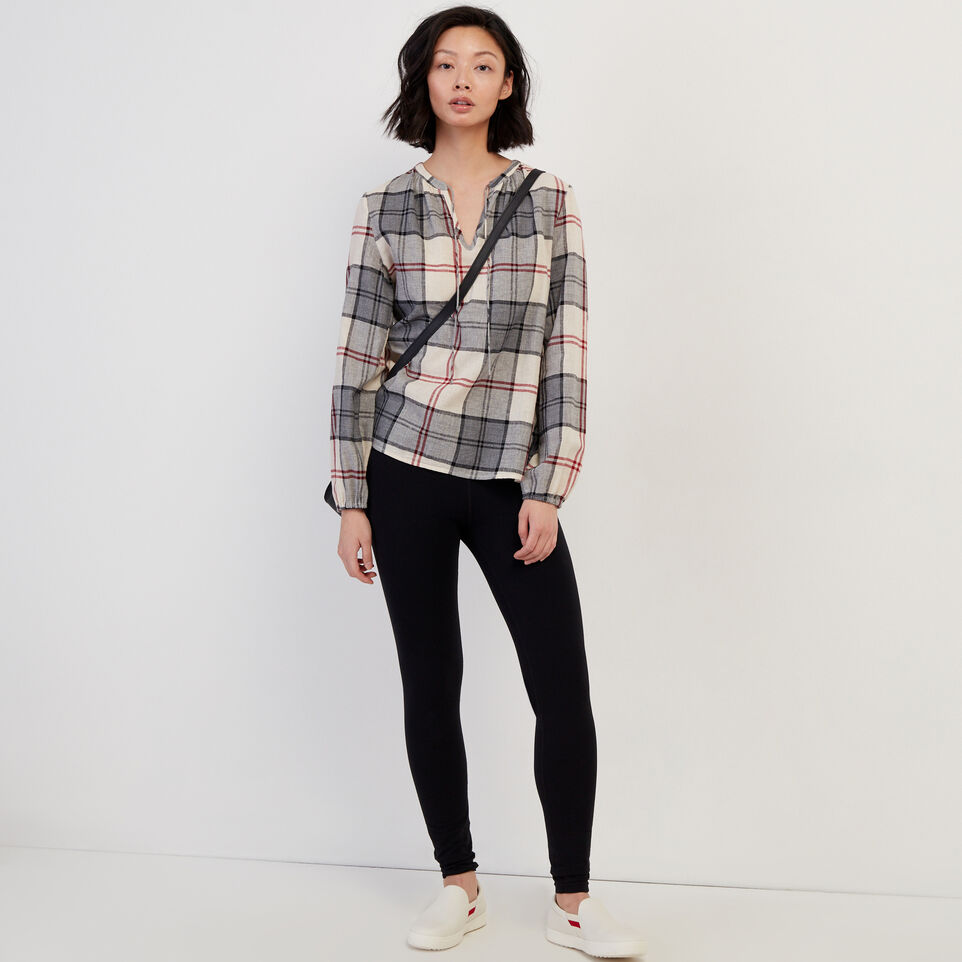 Roots-undefined-Smoke Lake Plaid Peasant Top-undefined-B
