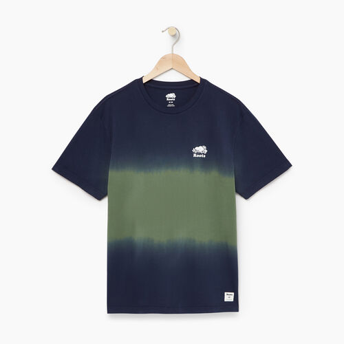 Roots-Men Our Favourite New Arrivals-Mens Sunset T-shirt-Park Green-A