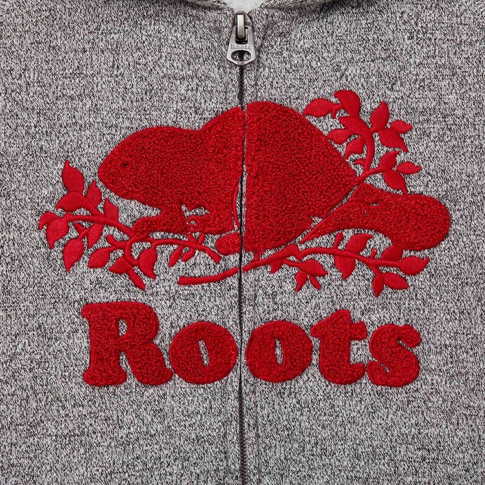 Roots-undefined-Girls Roots Cabin Cozy Zip Hoody-undefined-C