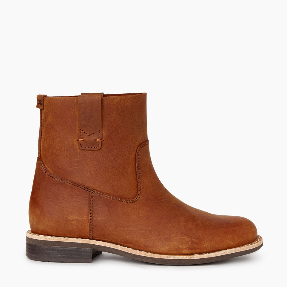 Roots-Women Categories-Womens Riverdale Shorty Boot-Natural-A