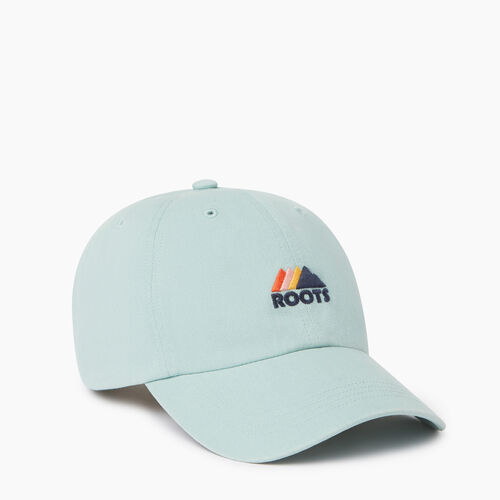 Roots-Women Our Favourite New Arrivals-Mountain Baseball Cap-Aquifer-A