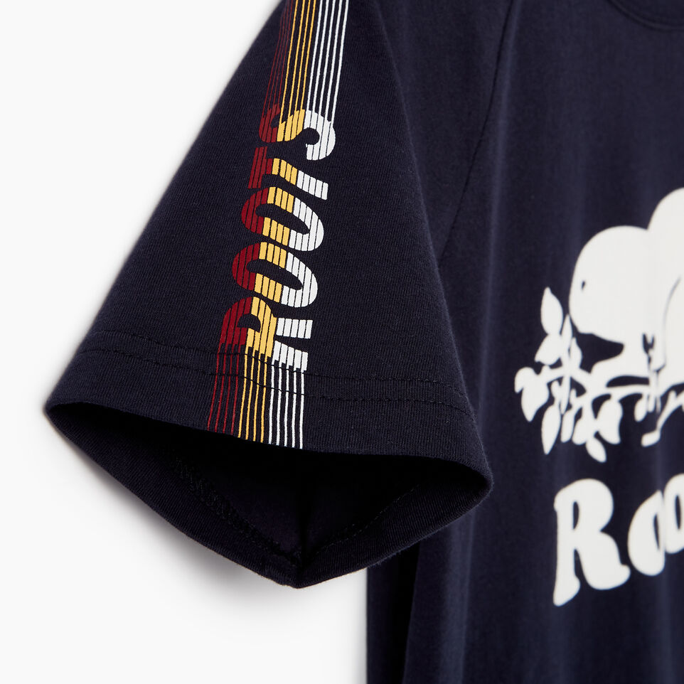 Roots-Kids Our Favourite New Arrivals-Boys Speedy Frank T-shirt-Navy Blazer-E