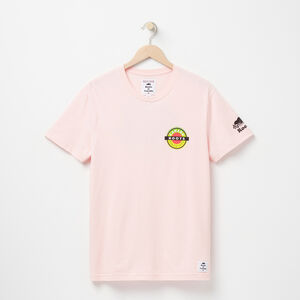 Roots-Women Canada Collection By Roots™-Mens Patches Graphic T-shirt-Silver Pink-A