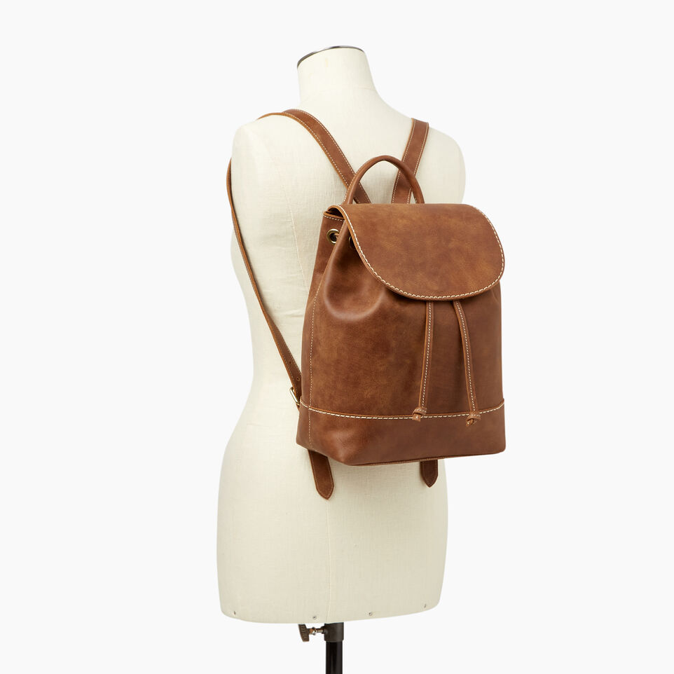 Roots-Leather Our Favourite New Arrivals-Sandbanks Pack-Natural-B