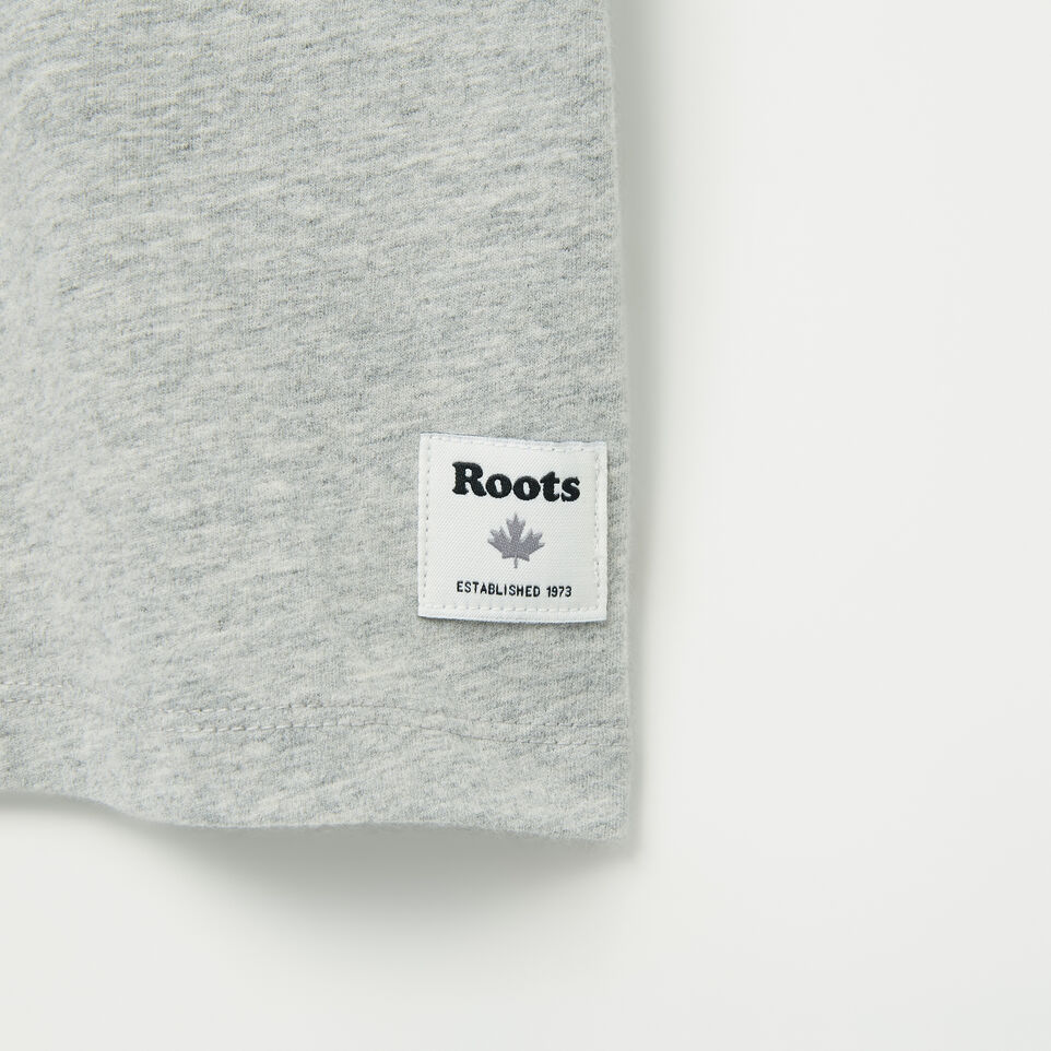 Roots-undefined-Womens Script Roots Boyfriend T-shirt-undefined-C