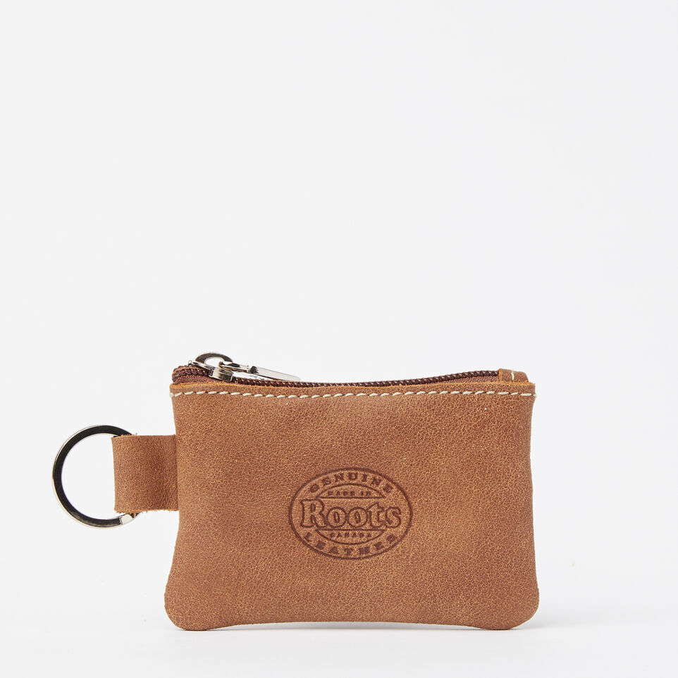 Roots-undefined-Maple Leaf Top Zip Pouch Tribe-undefined-B