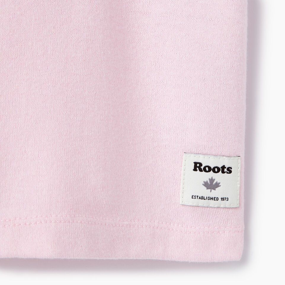 Roots-New For July Daily Offer-Womens Nanaimo V-neck T-shirt-Pink Mist Pepper-C