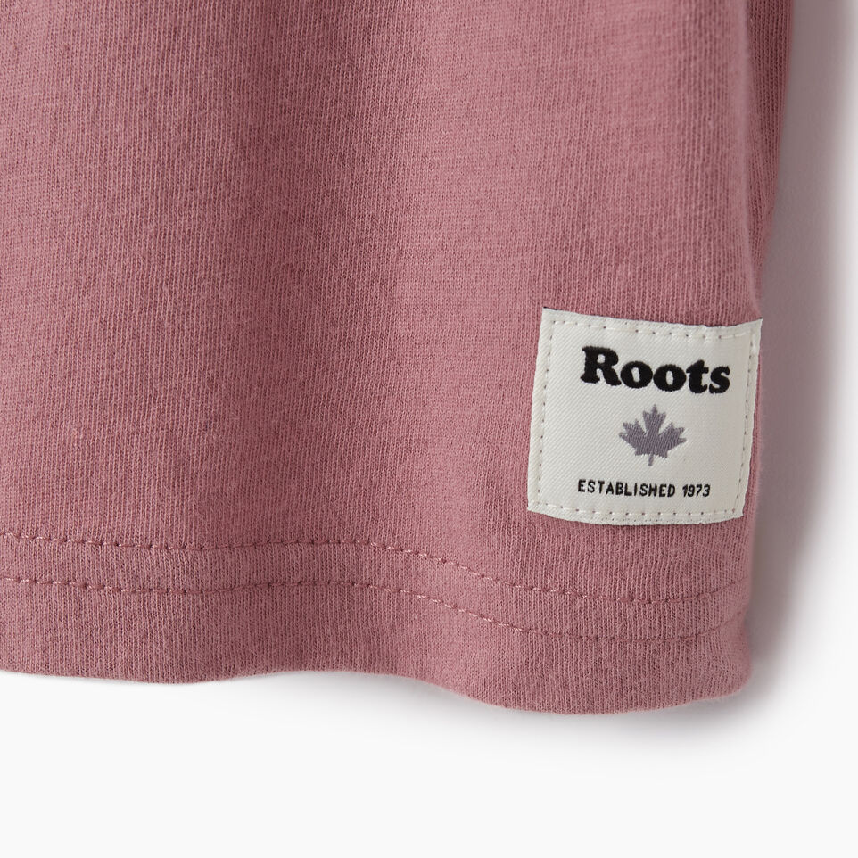 Roots-undefined-Girls Original Cooper Beaver T-shirt-undefined-D