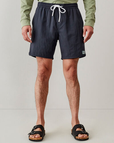 Roots-Shorts Men-Wasaga Hybrid Packable Short 7 In-Blue Graphite-A