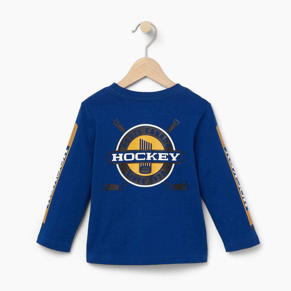 Roots-undefined-Toddler Hockey T-shirt-undefined-B