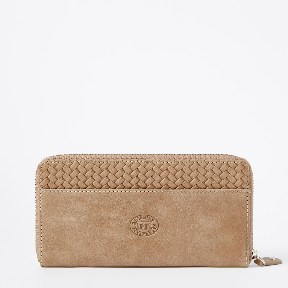 Roots-undefined-Two Toned Wallet Woven-undefined-C