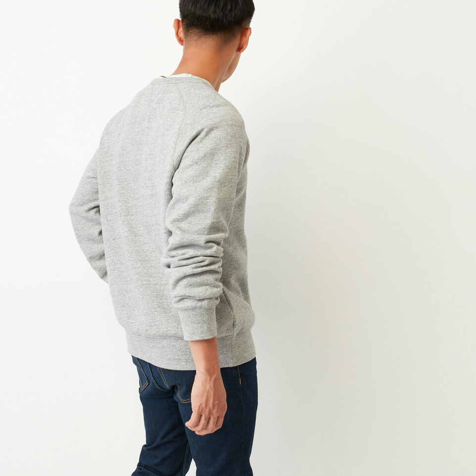Roots-undefined-50s Freedom Sleeve Sweatshirt-undefined-D