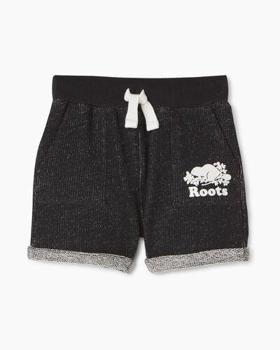 Roots-Sweats Baby-Baby Park Short-Black Pepper-A