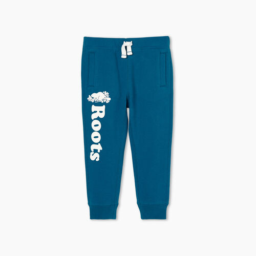 Roots-Kids Toddler Girls-Toddler Remix Sweatpant-Moroccan Blue-A