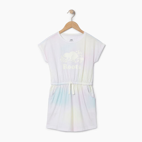 Roots-Kids Our Favourite New Arrivals-Girls T-shirt Dress-Ivory-A