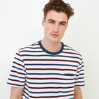 Roots-undefined-Striped Pocket T-shirt-undefined-D