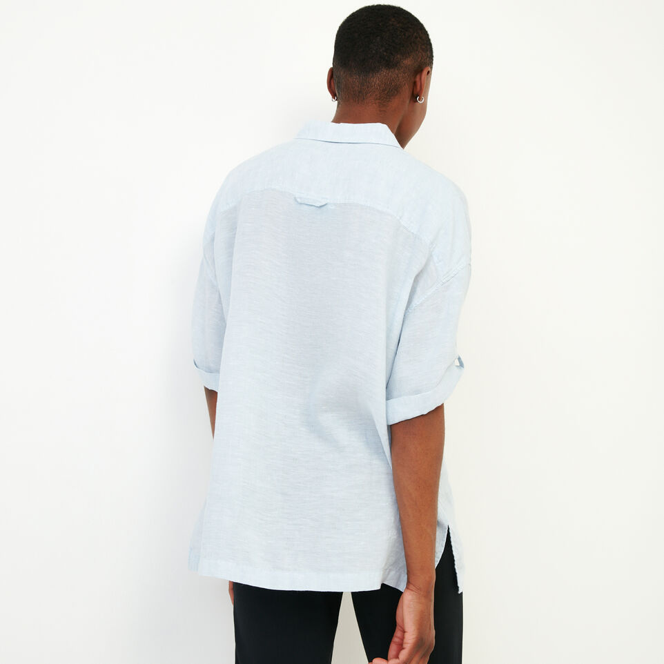 Roots-Women Our Favourite New Arrivals-Rivieres Popover Shirt-Skyway-D