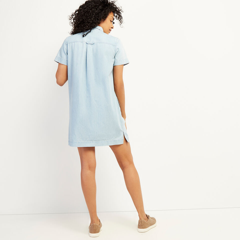 Roots-undefined-Sherbrook Chambray Dress-undefined-D