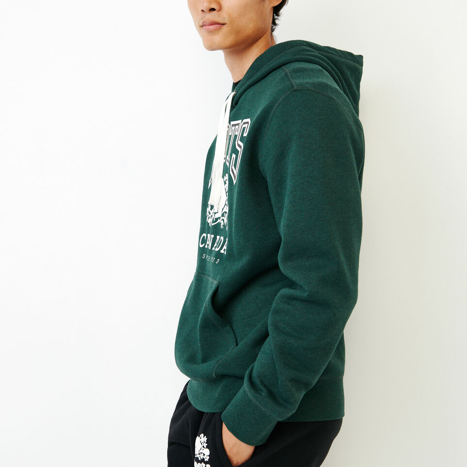 Roots-Men Our Favourite New Arrivals-Classic Kanga Hoody-Park Green Mix-C