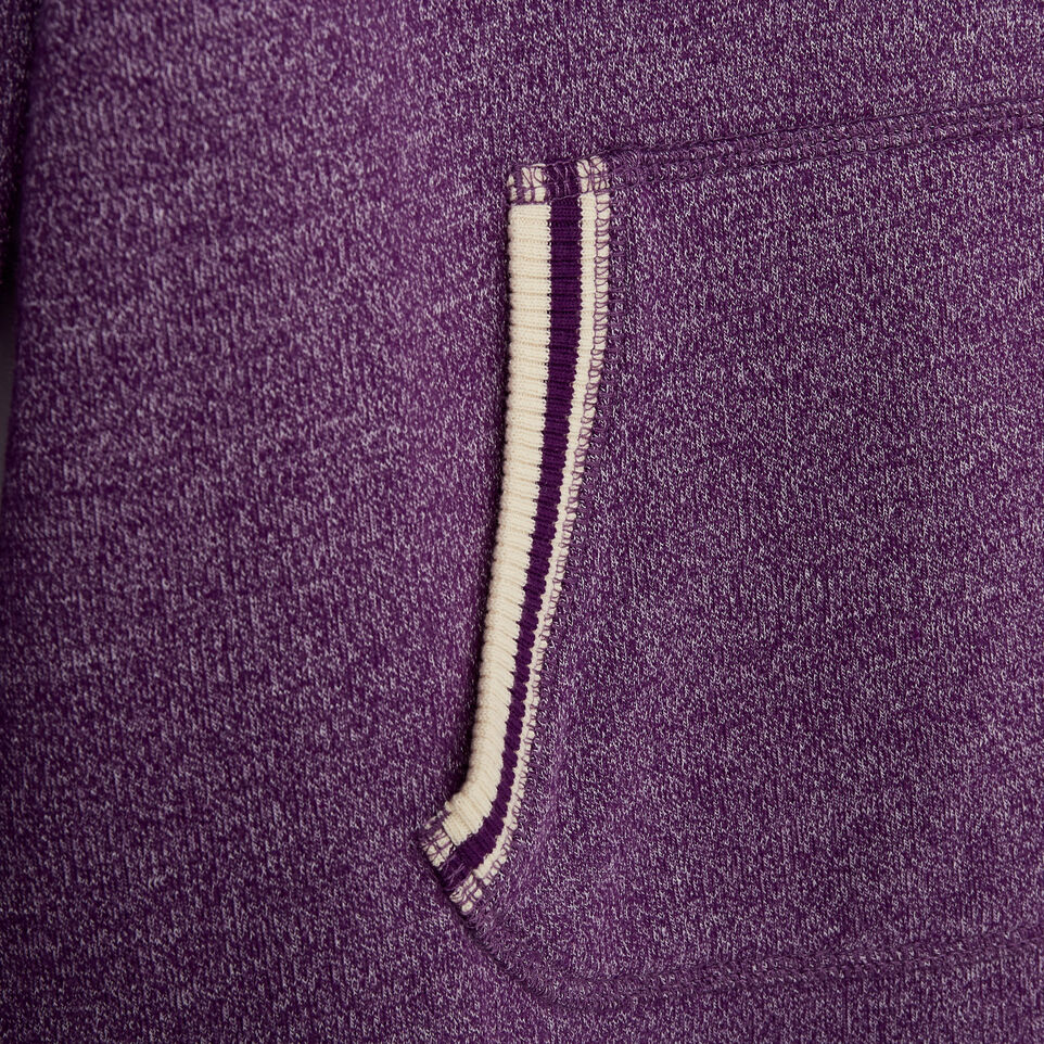 Roots-Kids New Arrivals-Girls Buddy Cozy Fleece Pullover-Grape Royale Pepper-E