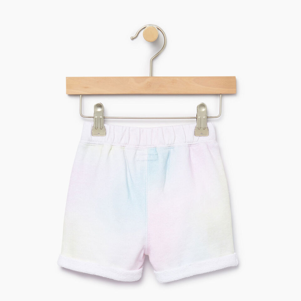 Roots-Kids Our Favourite New Arrivals-Baby Watercolour Short-Ivory-B