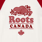 Roots-undefined-Womens Cabin Baseball Slim T-shirt-undefined-D