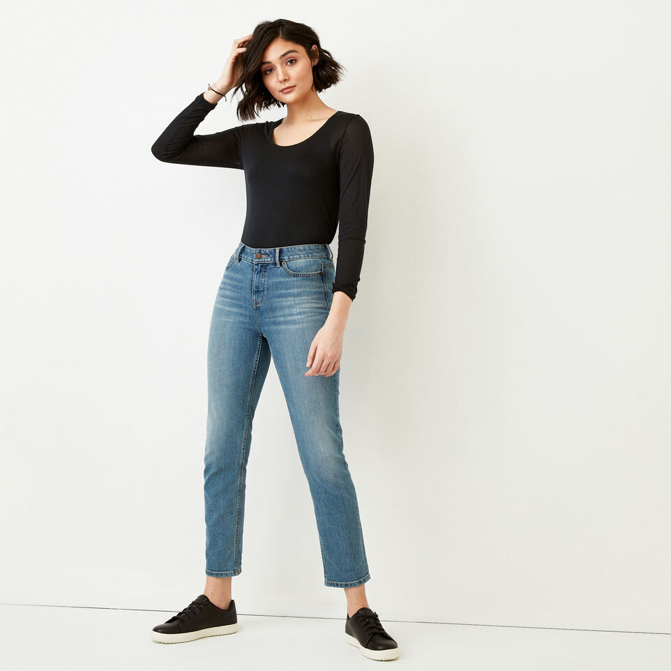 Roots-Women Our Favourite New Arrivals-Sidney Top-Caviar-B